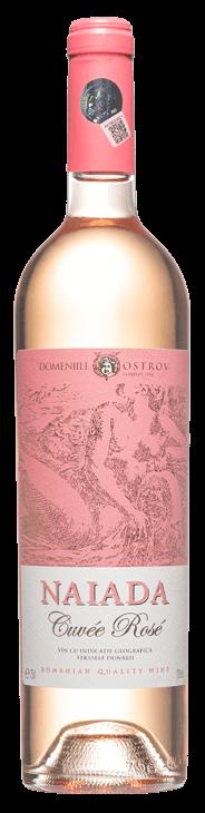 Vin Naiada Rosé Domeniile Ostrov