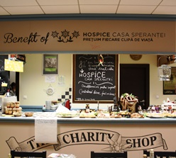 Restaurant Băcănia Veche The Charity Shop