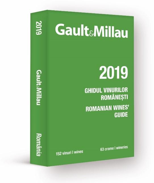 Coperta_Ghid Gault&Millau de vinuri romanesti 2019