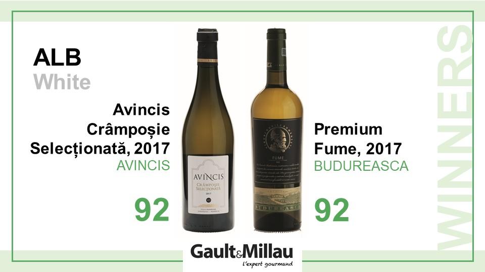 Cel mai bun vin alb: Castigatori