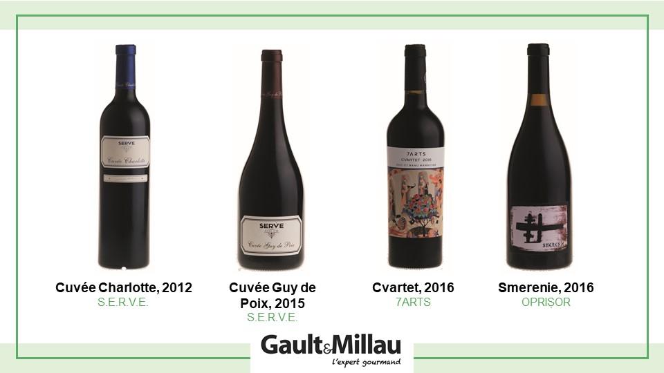 Cel mai bun vin rosu: Nominalizari
