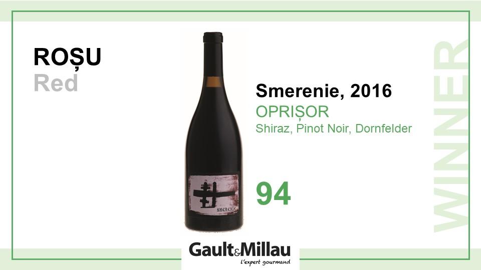 Cel mai bun vin rosu: Castigator