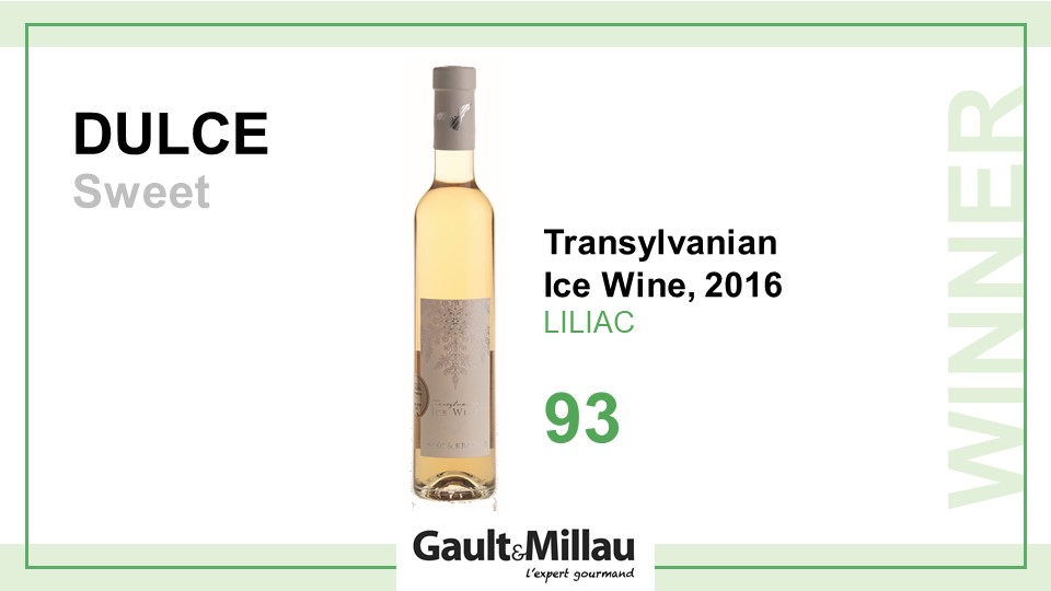 Cel mai bun vin dulce: Castigator