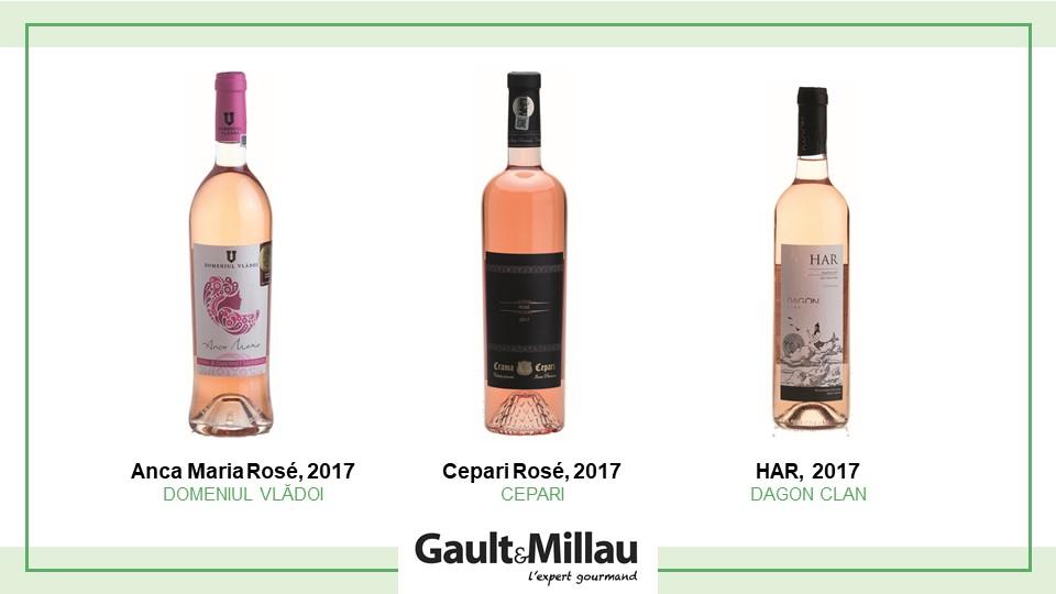 Cel mai bun vin rose: Nominalizari