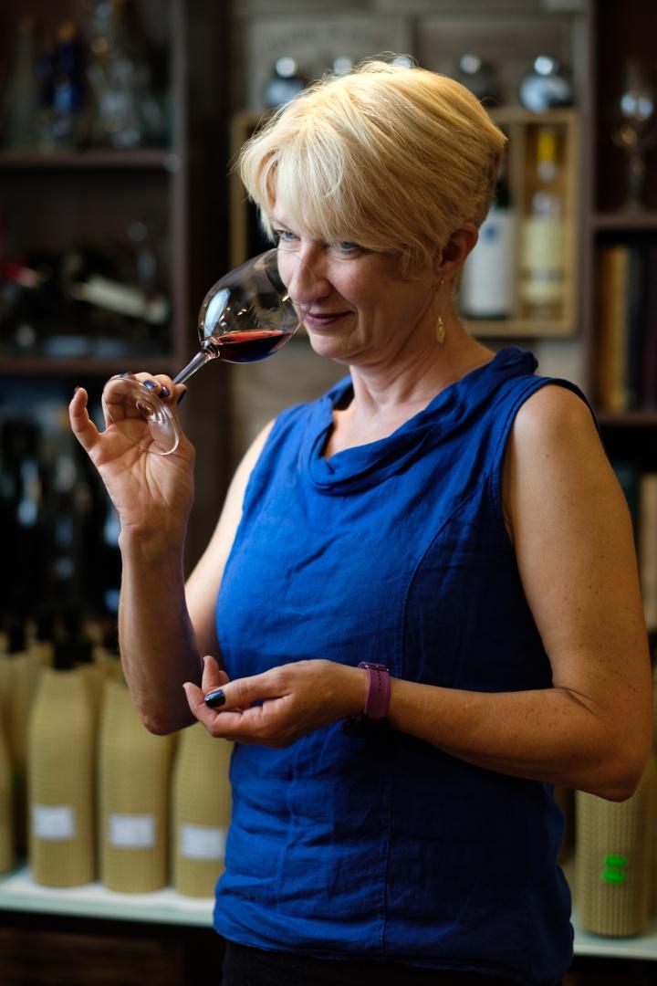 CAROLINE GILBY, Master of Wine